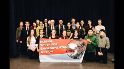 Fairbanks high schooler takes on environmental change