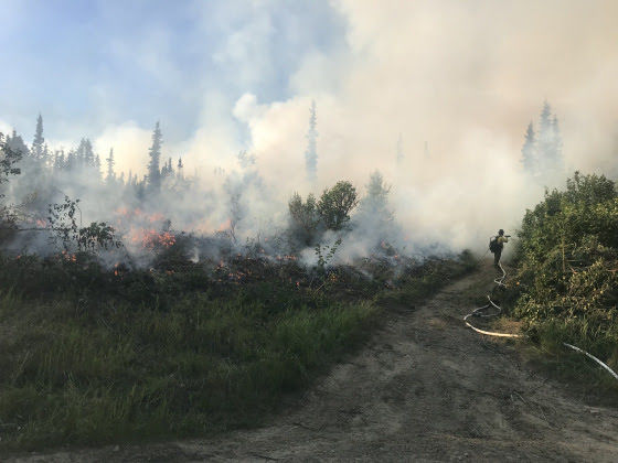 Updated: Shovel Creek Fire grows as hot, dry weather