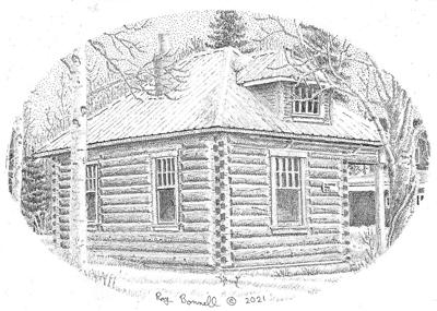 Tom Weatherell's cabin