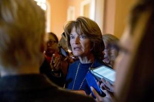 Murkowski pushes to end the government shutdown, then talk border security