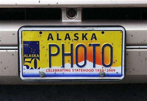 Alaska DMV panel censors vanity license plates | Alaska News | newsminer.com