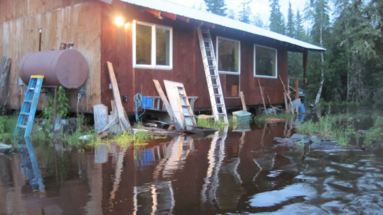 Goldstream flood