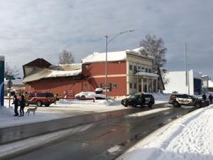 Historic Masonic Temple total loss after roof caves in