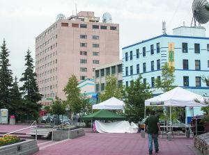 Fairbanks City Council takes step toward acquiring Polaris Building