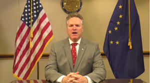 Dunleavy signs bill to continue federal relief funds for Covid-19