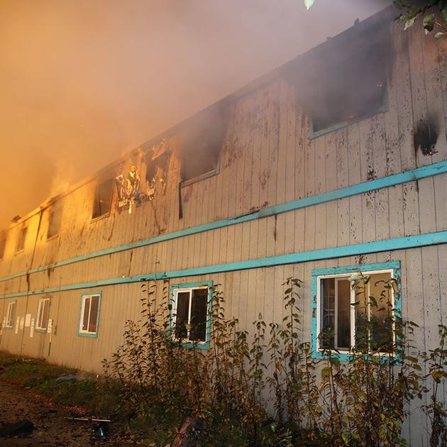 No injuries reported in motel fire, cause still unknown