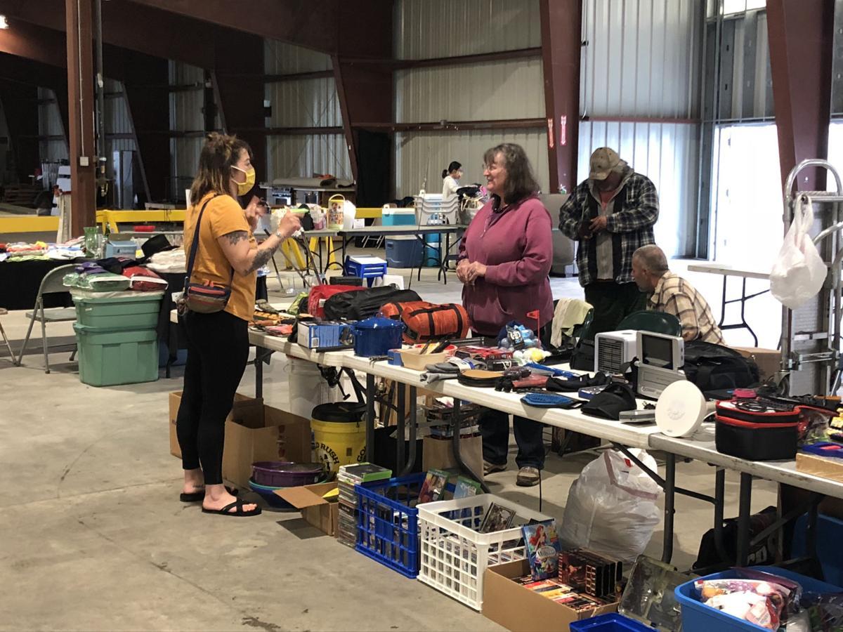 TVF garage sale