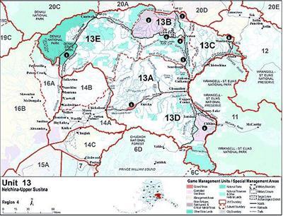 GMU 13 map
