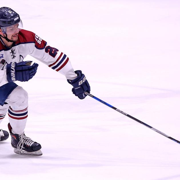 Ice Dogs' Deweese honored by NAHL