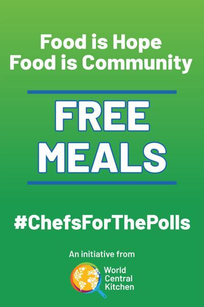 #ChefsForThePolls Poster