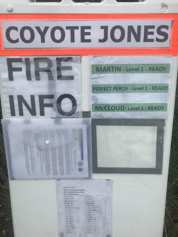 Evacuation alerts reduced