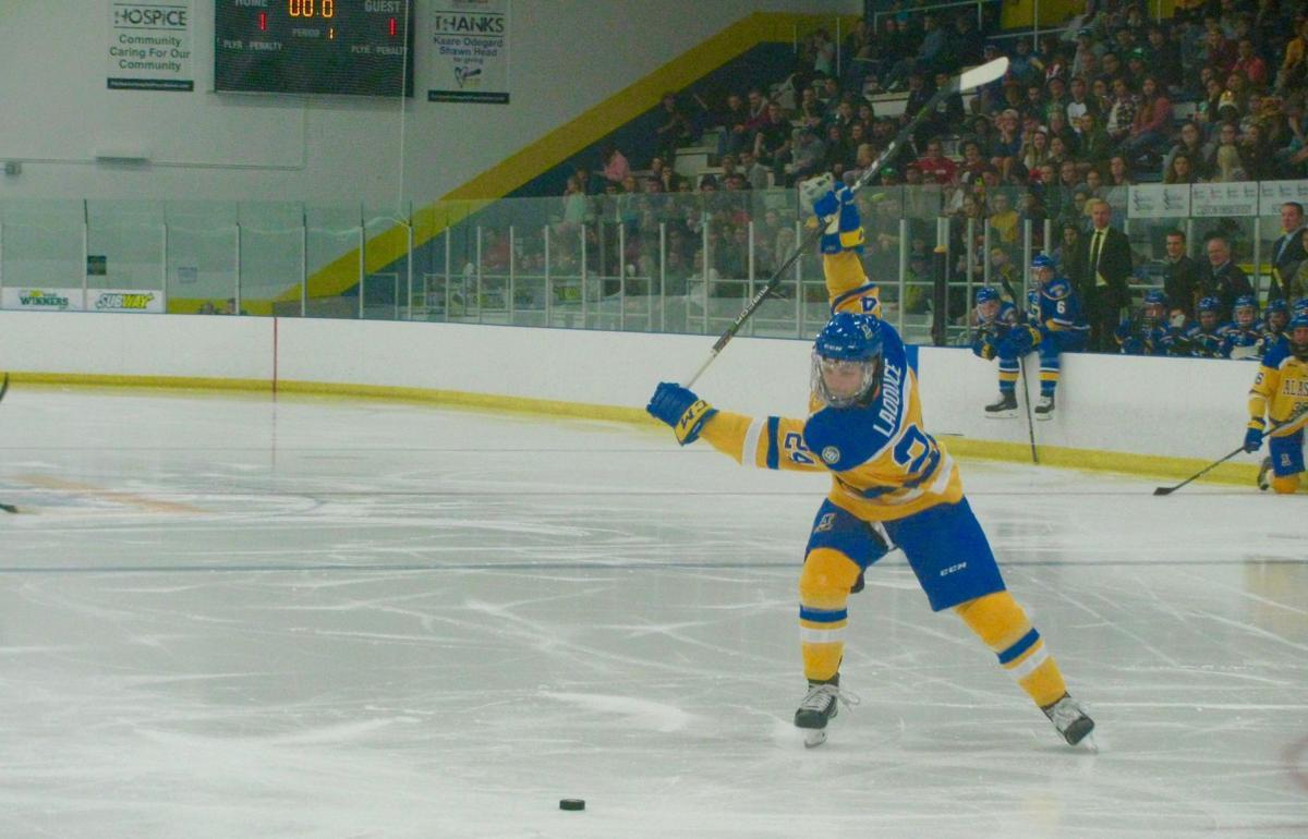 UAF Blue-Gold hockey Game