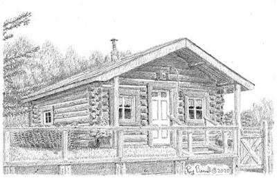 The Walter and Mary Ellen Gould cabin