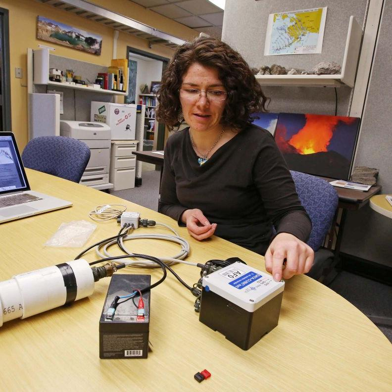 UAF student uses rocketry and sound to better understand volcanoes