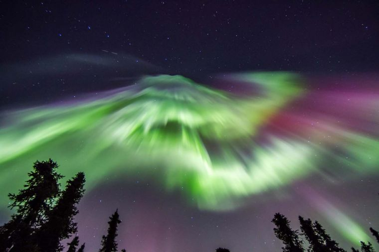 Northern Lights Dance Across Alaskau0027s Winter Skies Amazing Pictures