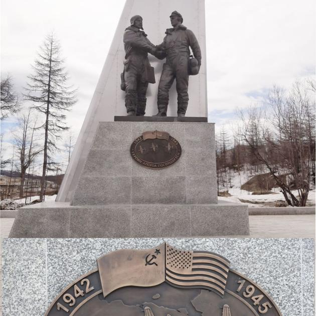 Lend-Lease monument erected in Magadan, Russia
