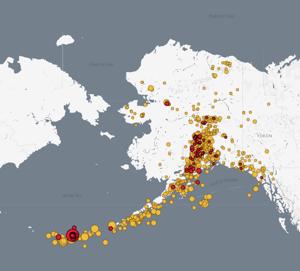 Magnitude 6.2 quake reported near Tanaga volcano in Alaska