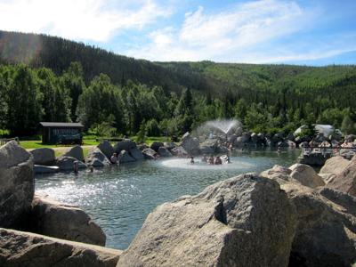 Chena Hot Springs creative commons license