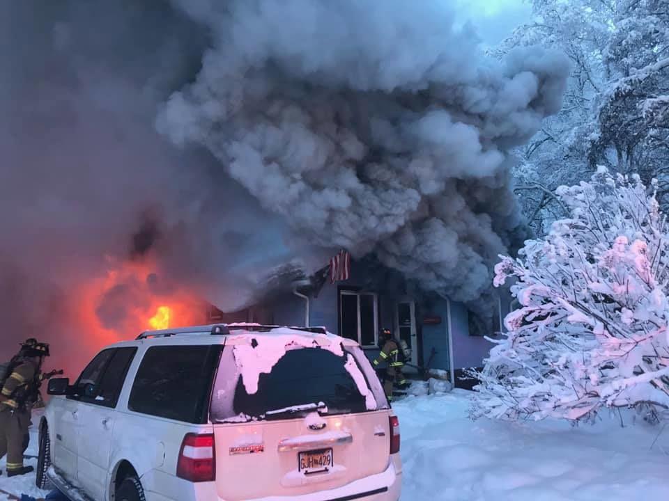 Illinois Street fire