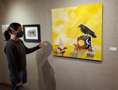 Bear Gallery exhibit