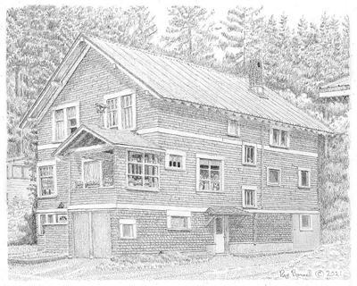 The Samuel Blum house