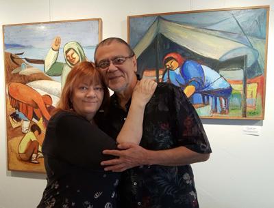 Yolande Fejes and Ron Veliz