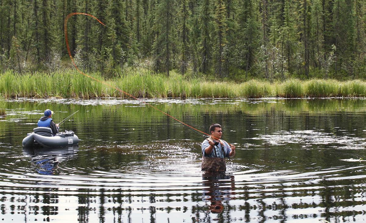 Fishing is easy on fairbanks area rivers and lakes for Fishing in fairbanks alaska