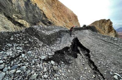 Pretty Rocks landslide