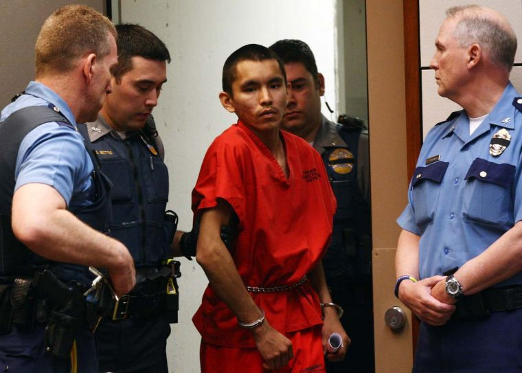 Arraignment for Suspect in Troopers Murder