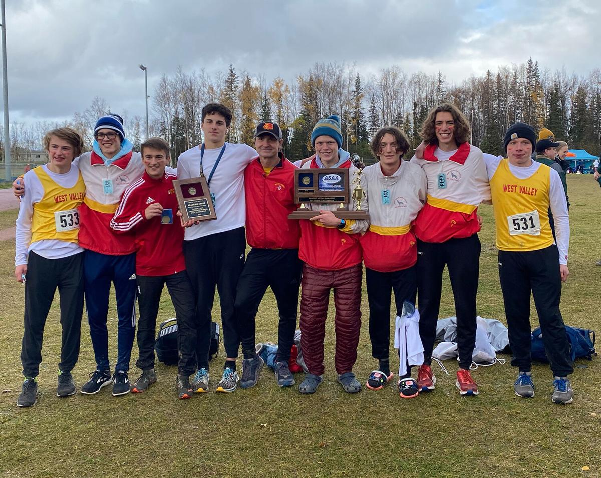 West Valley boys cross country team