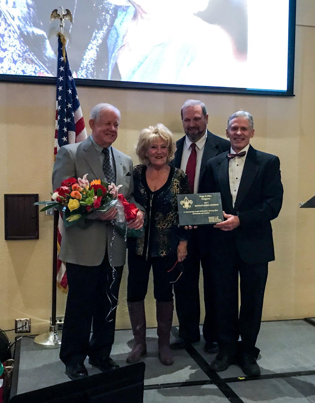 fergusons receive distinguished citizens award kris capps