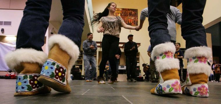 Gwich'in Old Time Athabascan Fiddling Dance