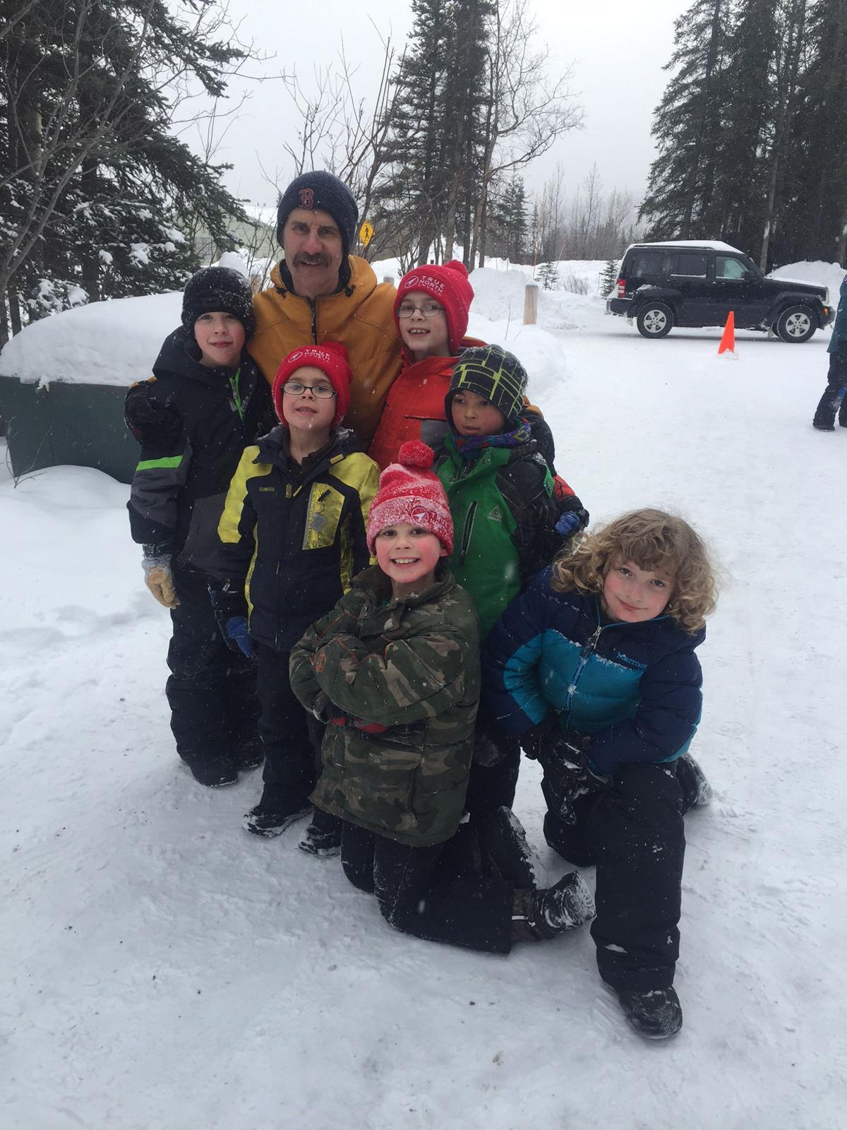 Nenana Ski Coach Chuck Hugny