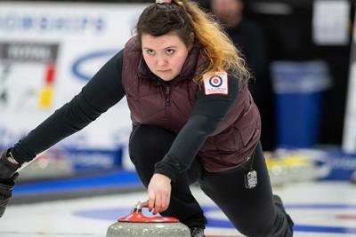 Ariel Traxler curling