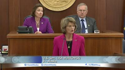 Murkowski legislative address