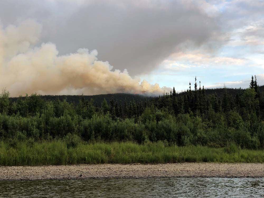 Nugget Creek fire
