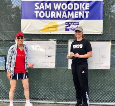 Sam Woodke Tournament Doubles champs