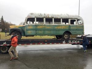 'Into the Wild' bus returns to Fairbanks