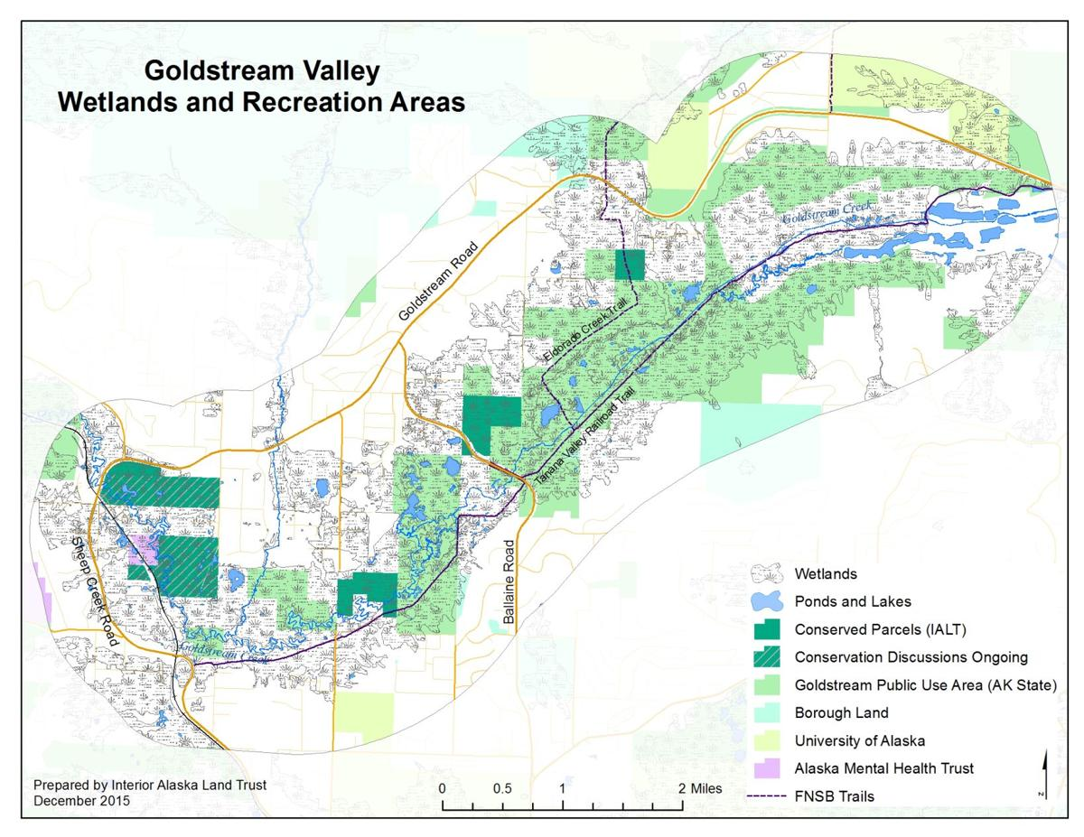 Goldstream land conservation project grows | Local News