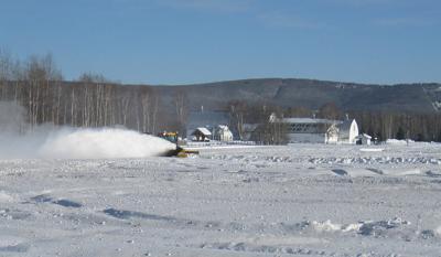 Creamer's Field plowing