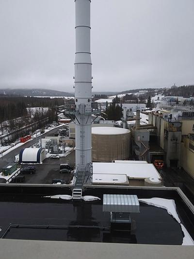 University of Alaska's heat and power plant