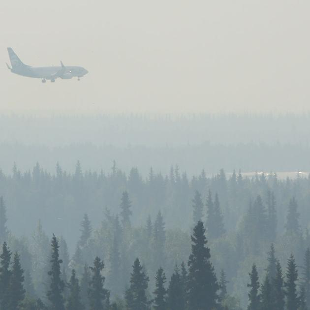 Lightning strikes could spark more fires in Interior Alaska later this week