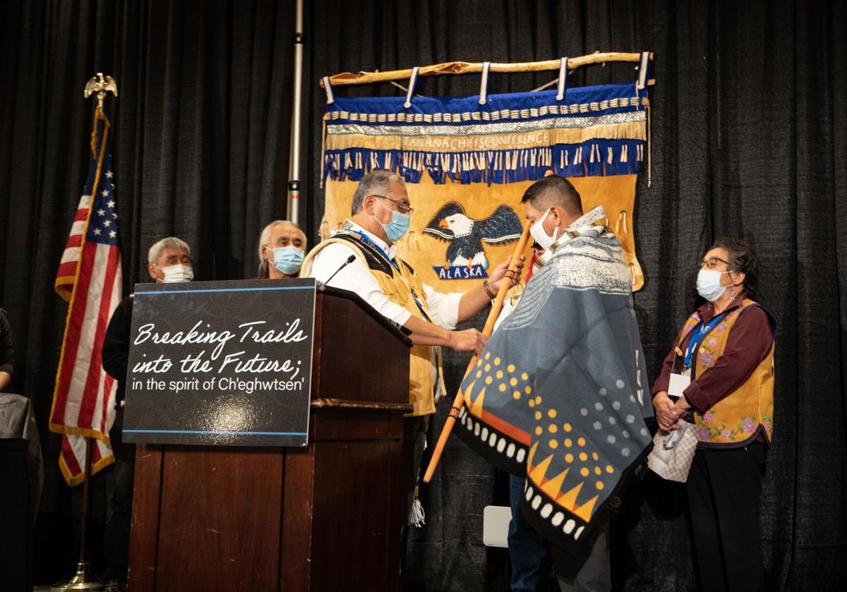 "Tanana Chiefs Conference chief/chairman Pollack ""PJ"" Simon Jr."