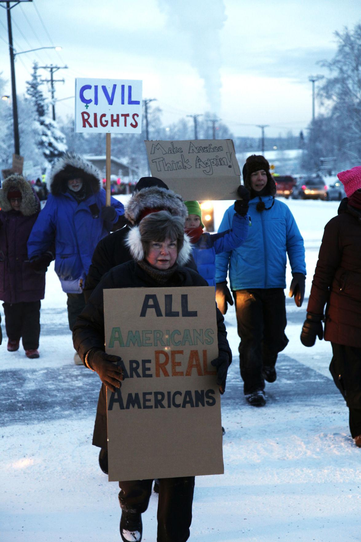 Women's March in Fairbanks