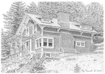 The Hazelet home