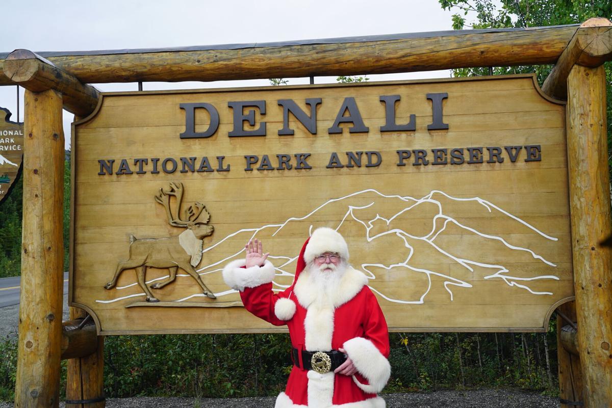 Santa Visits Denali