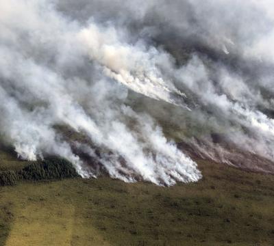 Taixtsalda Hill Fire
