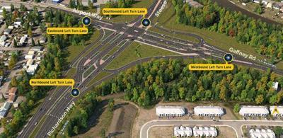DOT Intersection plan