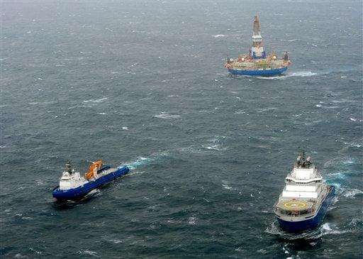 Shell Arctic Drill Ship