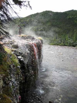 Deep in Alaska's Interior, a deserted hot springs lodge fades into history